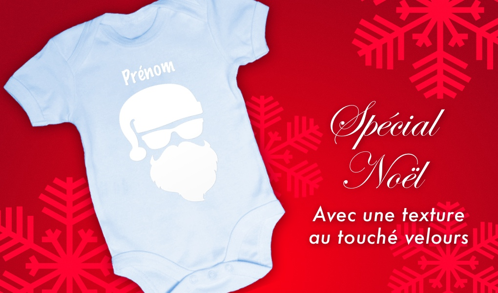 88c24d65ae69f Baby Noa - Spécial Noël - Body bébé Noël - Père Noël pour garçon